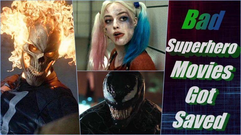 Bad superheromovies saved
