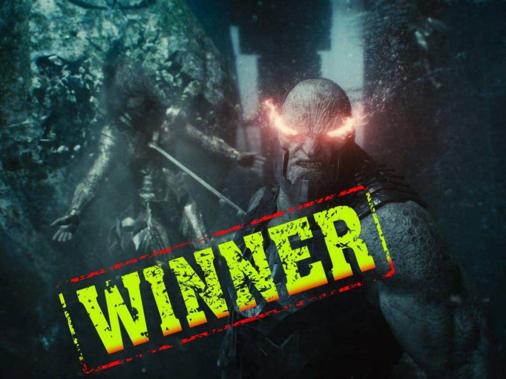 Darkseid winner